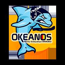 logo okeanos grenoble hockey subaquatique